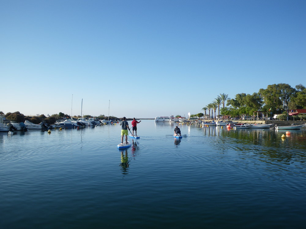 Discovering how to Stand up Paddle - Fuseta