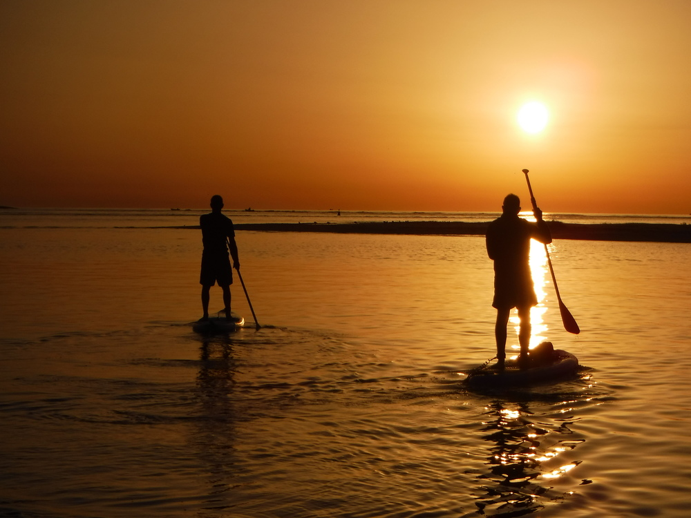 Sunrise SUP at Fuseta with Your Algarve Adventure