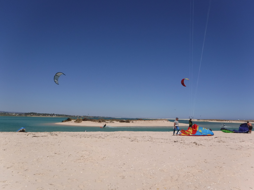 Kitesurfing at Fuseta with Your Algarve Adventure