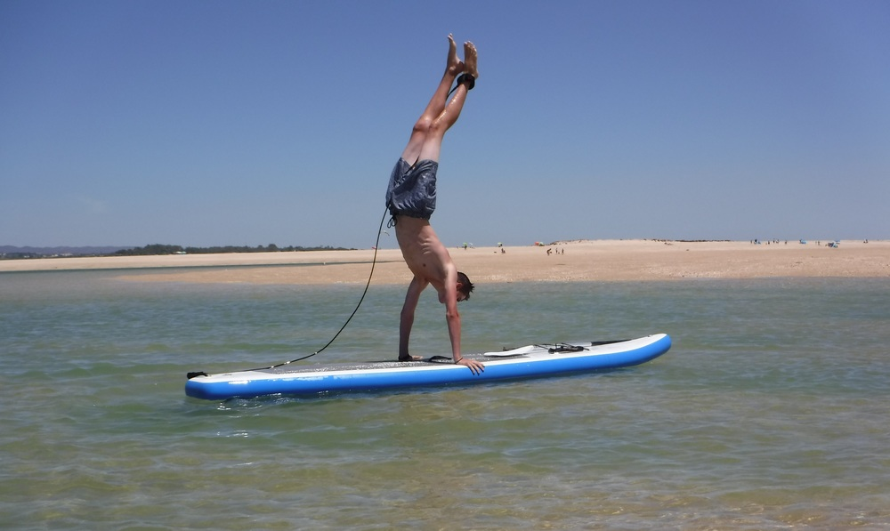 SUP fun at Fuseta - with Your Algarve Adventure