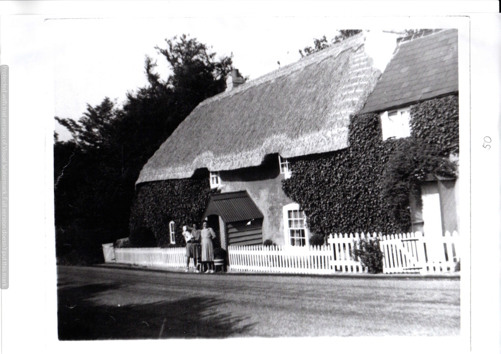 Cottage at Membury crossroads