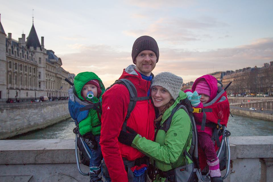 "The family behind the blog  ""Jack and Jill See the World"" - a guide to traveling with kids."