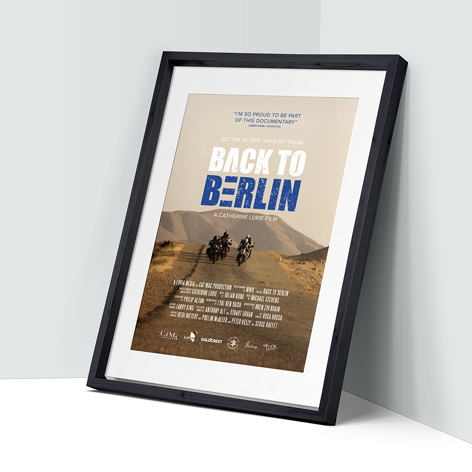 Back to BerlinGrabbing the audience'sattention with Back toBerlin website - Coming Soon