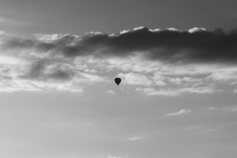 Balloon silhouette, Örnsberg, Stockholm