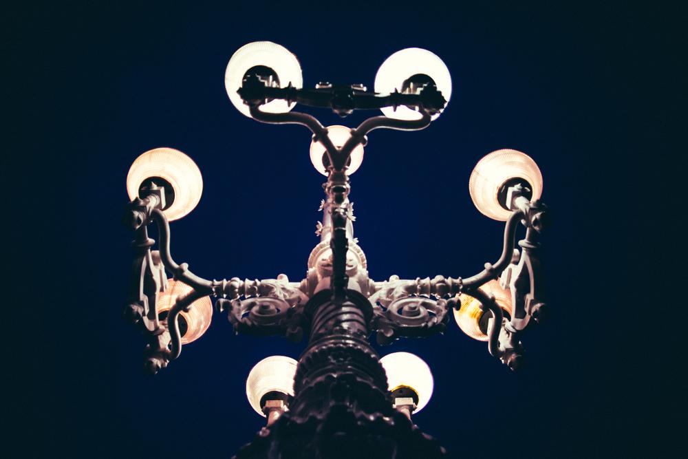 Donostia San-Sebastian boardwalk lamp, Donostia San-Sebastian, Spain