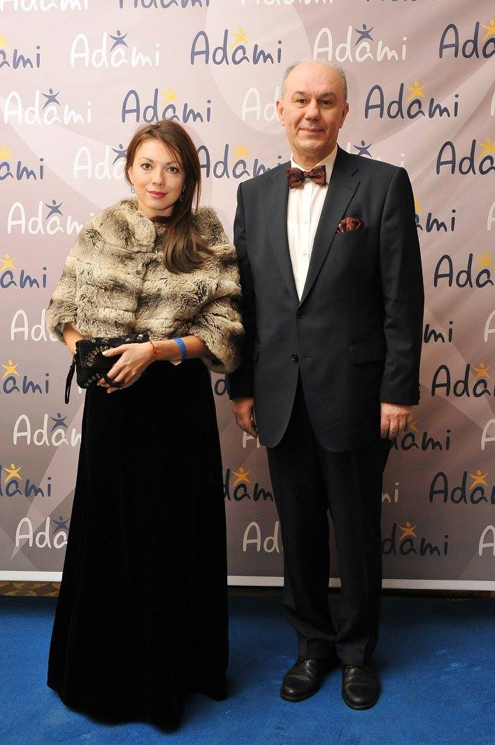 Ms. Victoriia Lialina and Mr. Georgii Nazarov - Charge d'Affaires a.i. of Ukraine