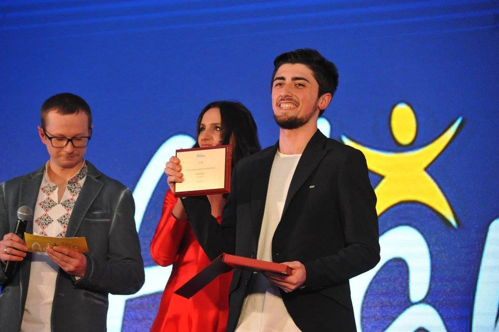 Georgian-Azeri comedian Ziad Aliev received a Special Mention for his online show 'Kibatono'