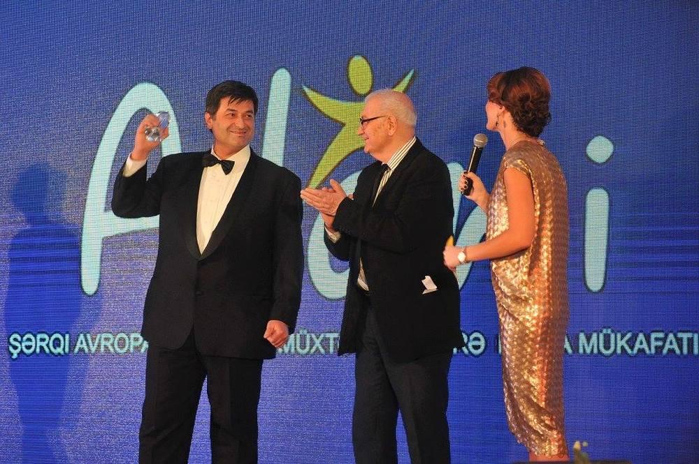 Giorgi Tskhvediani, winner for non-fiction