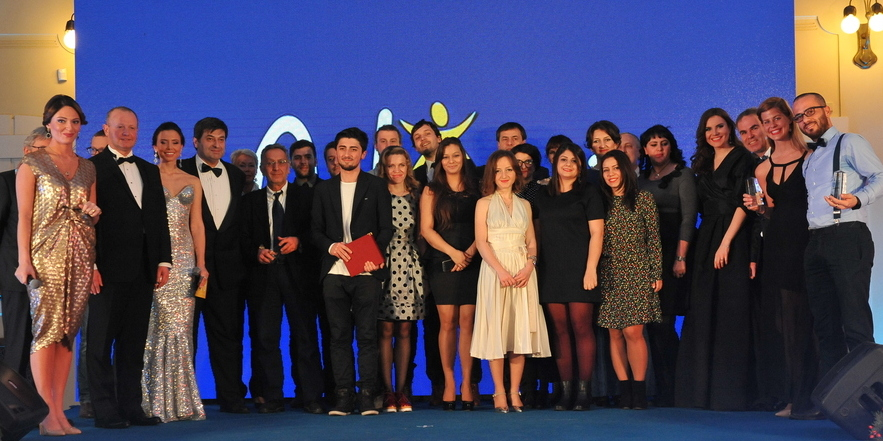 The hosts, winners, nominees, and jury members