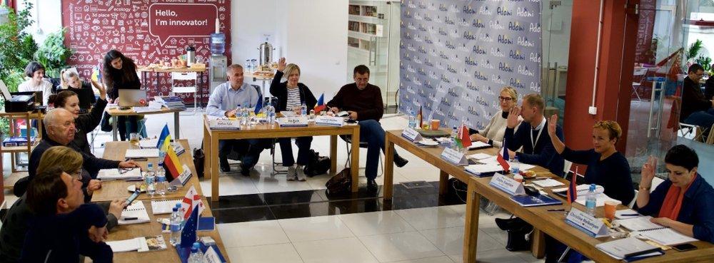 Сессия Жюри АДАМИ 2018 - Odessa, Ukraine