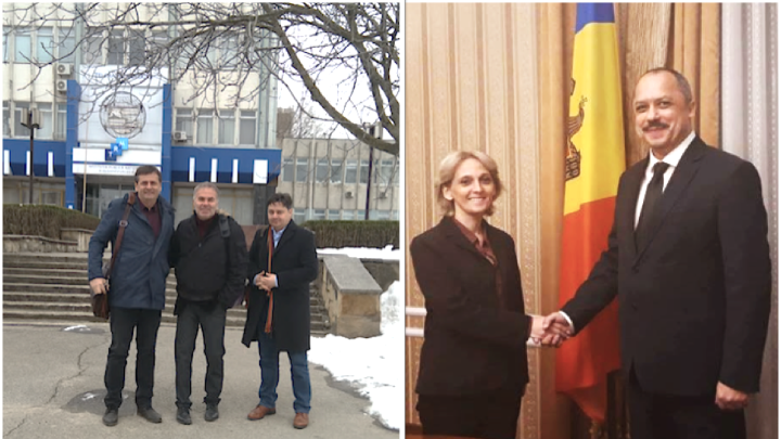 ADAMI IN MOLDOVA   In March 2018, the ADAMI team conducted an official visit to the capital of Moldova and travelled to Chisinau to meet with representatives of both the President's administration as well as the national broadcasting companies of Moldova.