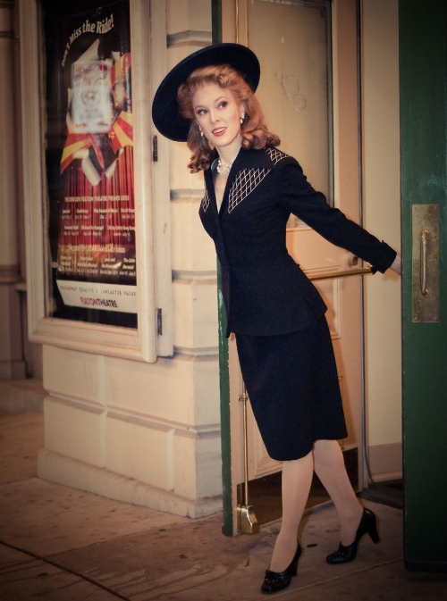 1940's photo shoot at door.jpg
