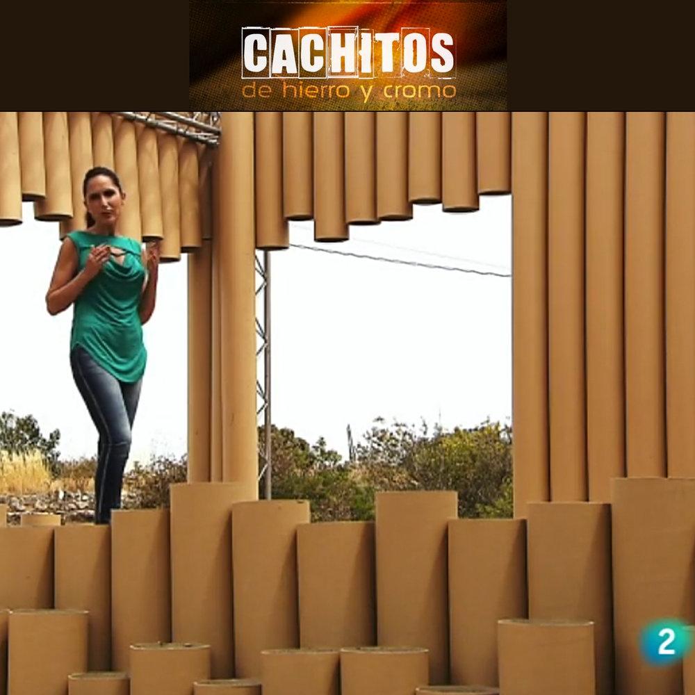 """El programa de la 2 de RTVE """"Cachitos de hierro y cromo"""" ofreció un programa especial dedicado a los festivales y eligieron el VIDA para grabar en los diferentes espacios."""