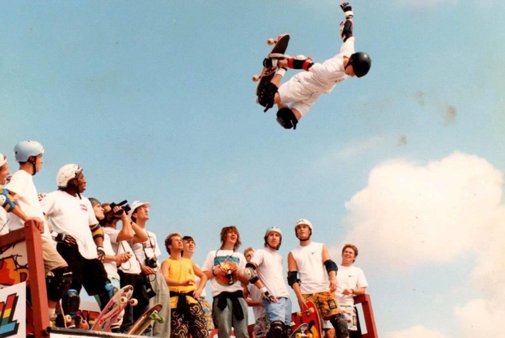 Tony Hawk, 1987.