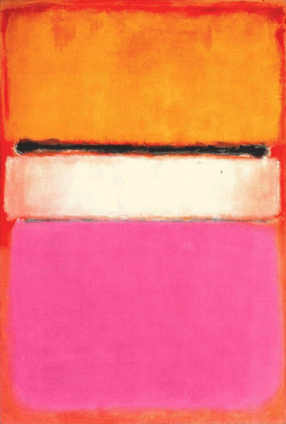 White Center . Mark Rothko, 1950.
