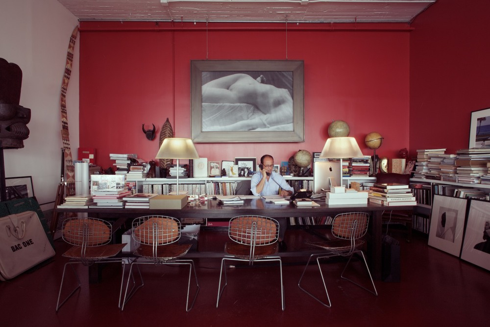 Prosper Assouline in his New York office.