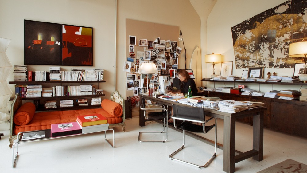 Martine Assouline in her office.