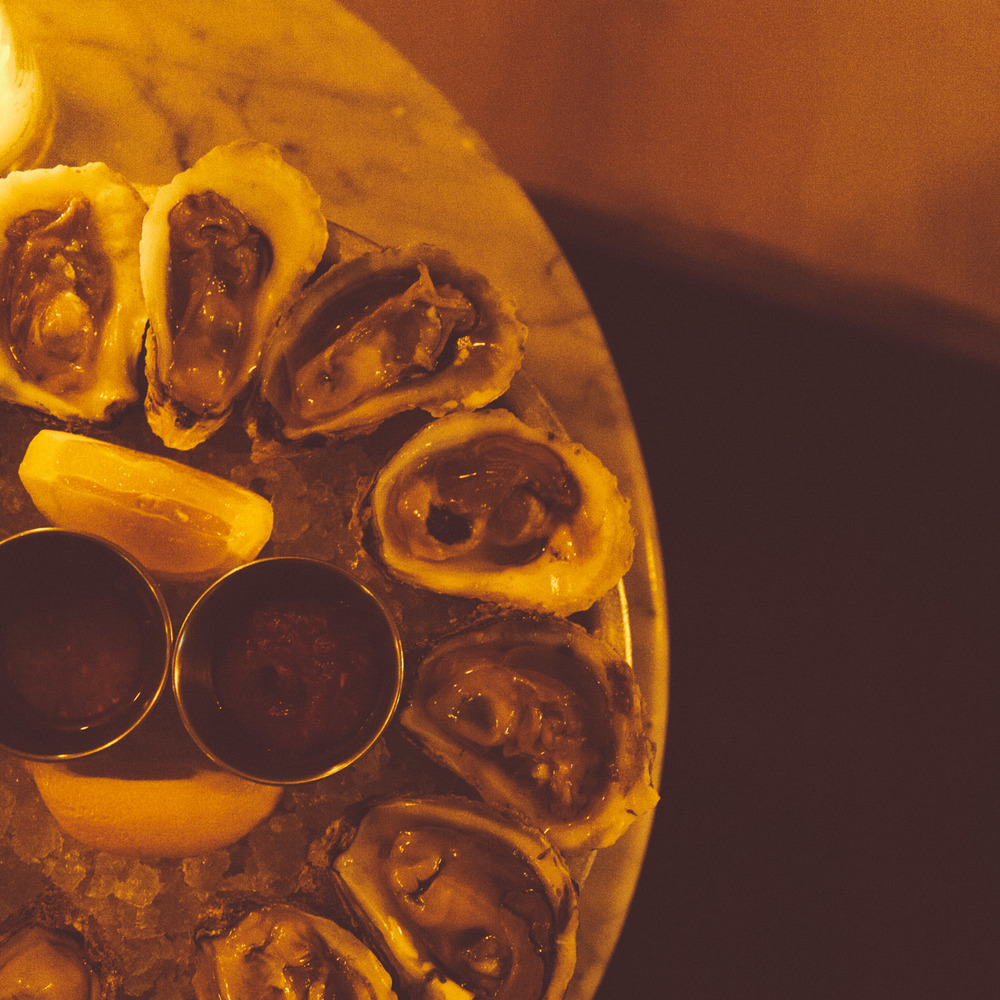 Oysters are a buck-a-shuck every night from 6pm-8pm. It's the perfect time to split a couple dozen with friends while having the place mostly to yourselves.