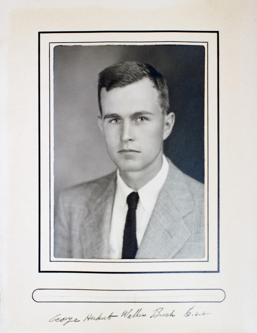 "George Herbert Walker Bush, aka ""Magog."""