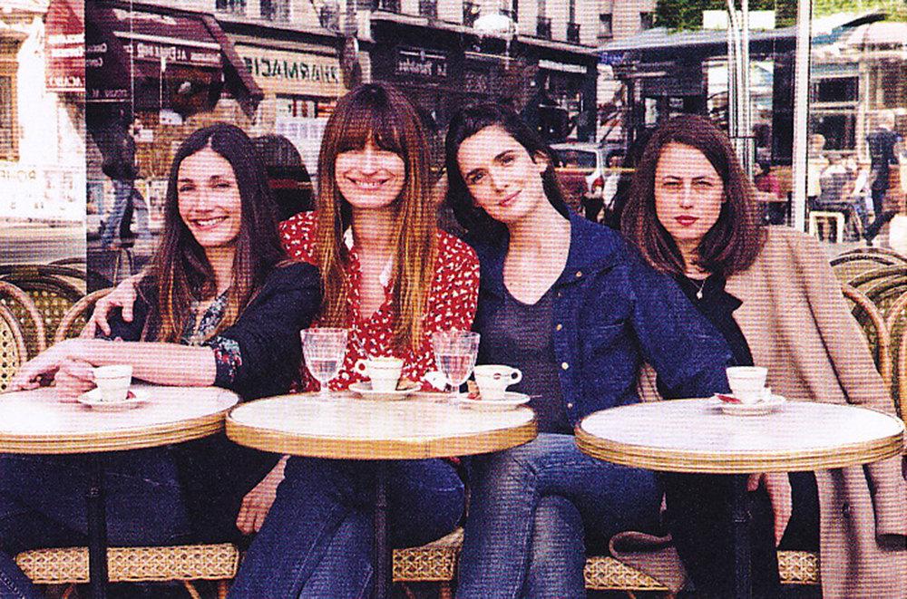 Audrey, Caroline, Sophie, and Anne.