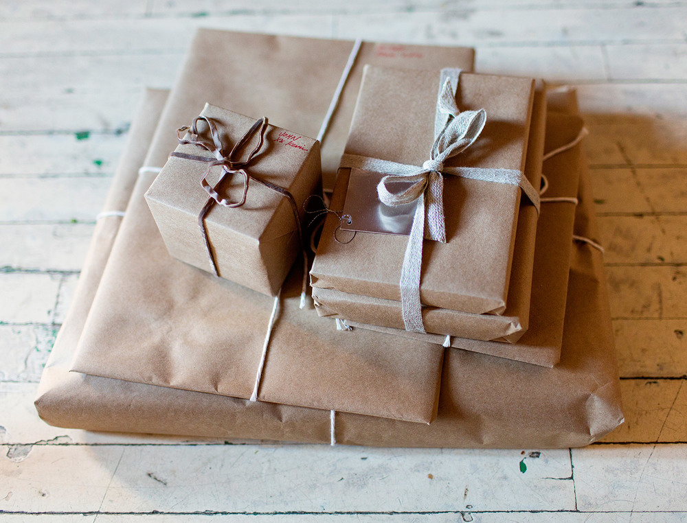 How to wrap a gift like a gentleman.