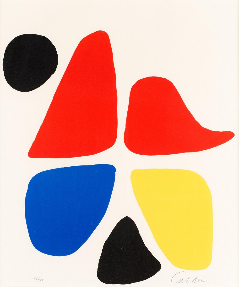Carrefour . Alexander Calder,1974.