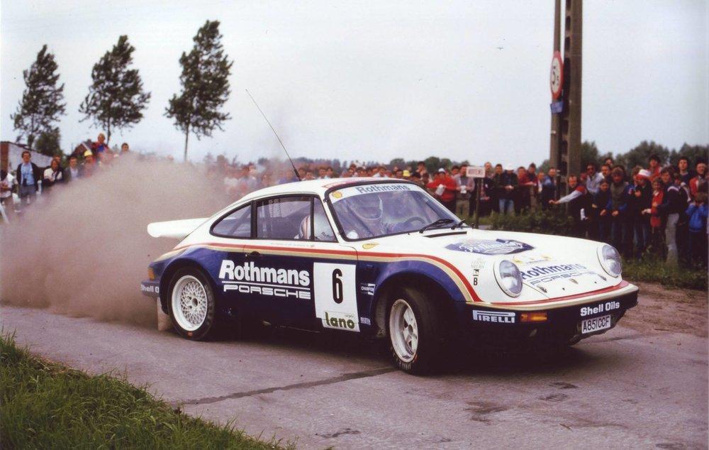 Rothmans Porsche 911 Rally Car