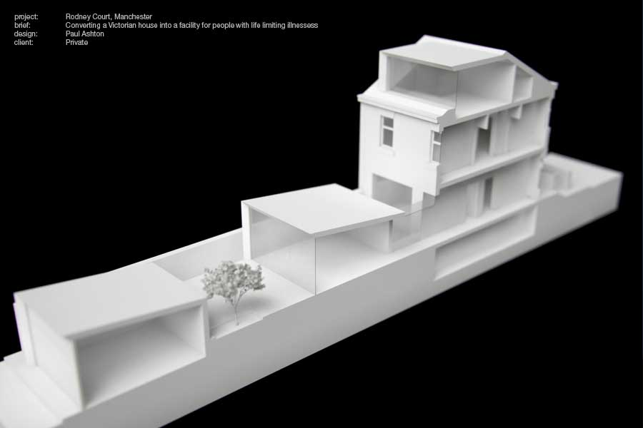 Concept Model of Victorian Terraced House Conversion