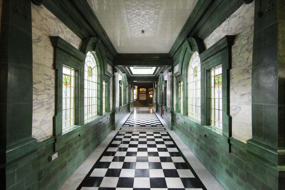 Asia House Interior with Faience Tiles - Photo by Paul Ashton