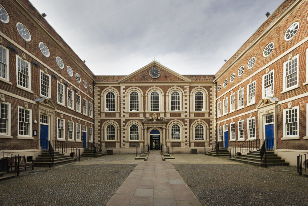Bluecoat Main Facade - Photo by Paul Ashton