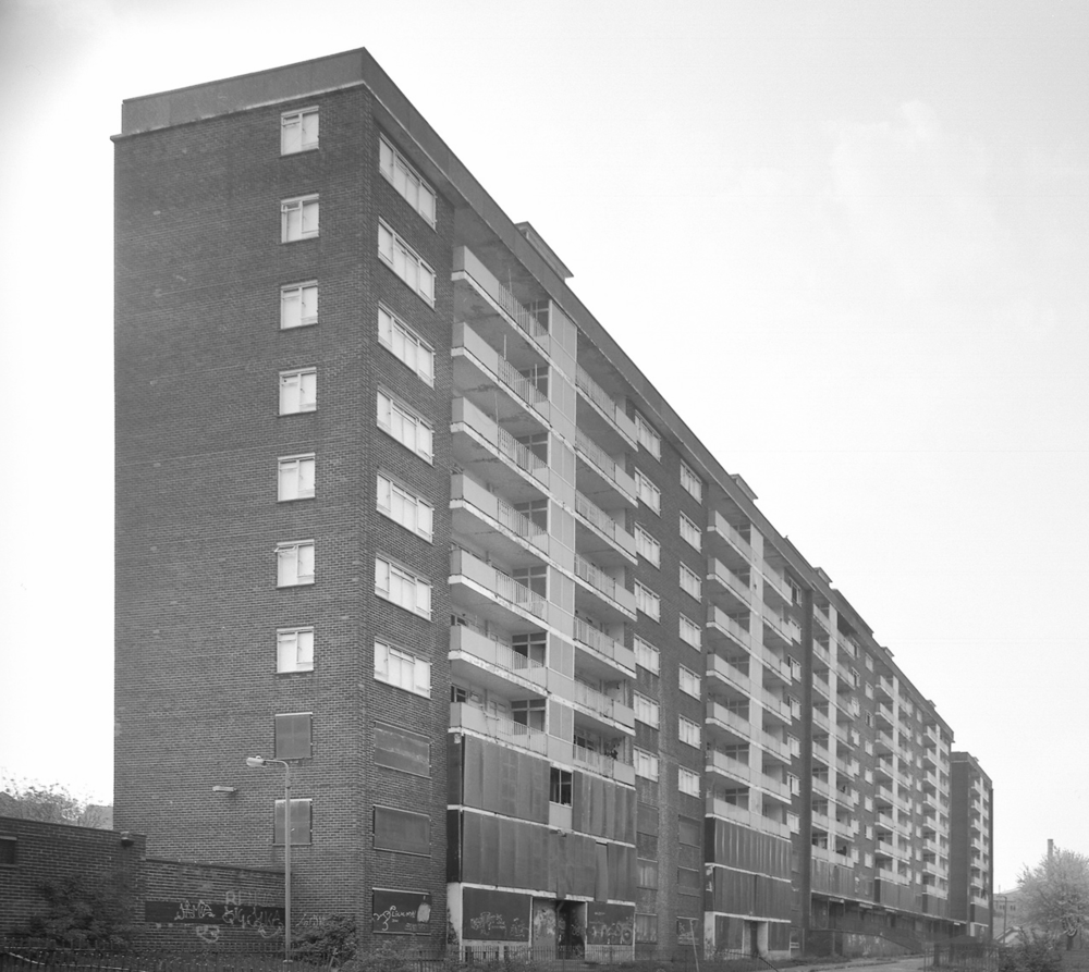 Saxton Gardens in the 1980s