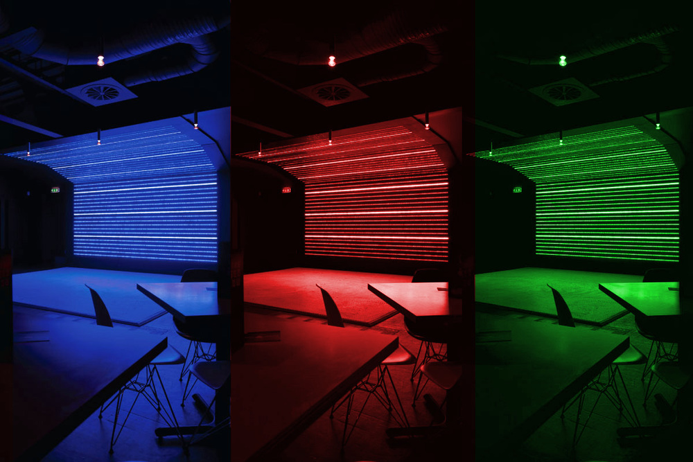 Baa Bar dance Floor LED Wall