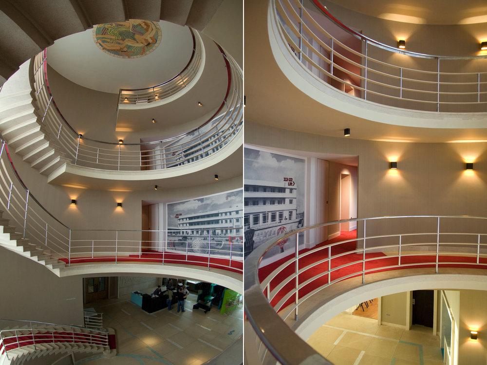 Midland Hotel Stairs