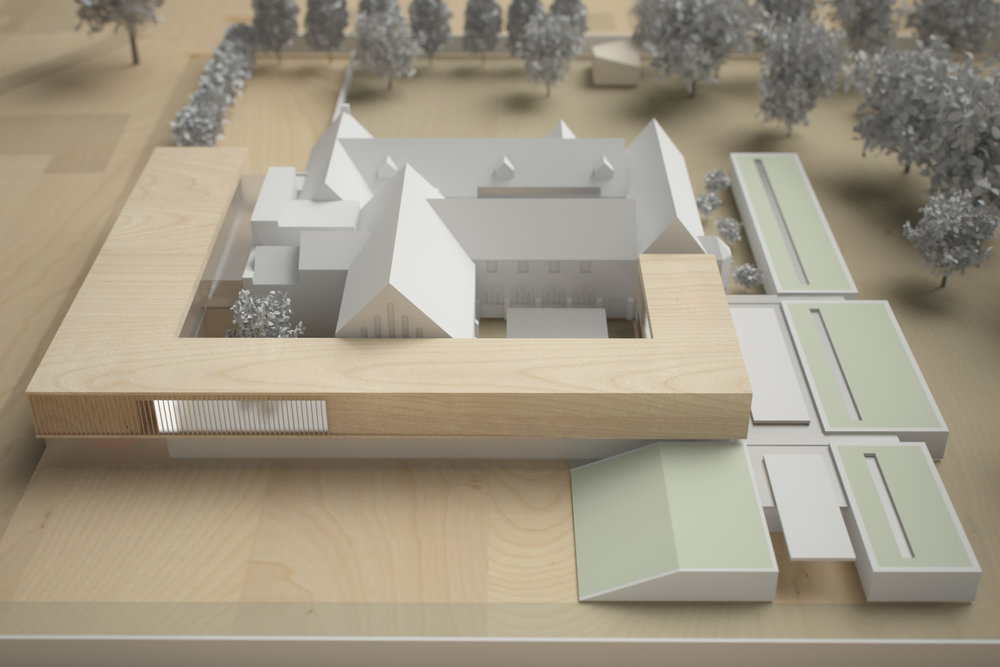 Monastery Building Conversion and Extension Liverpool Physical Model 2