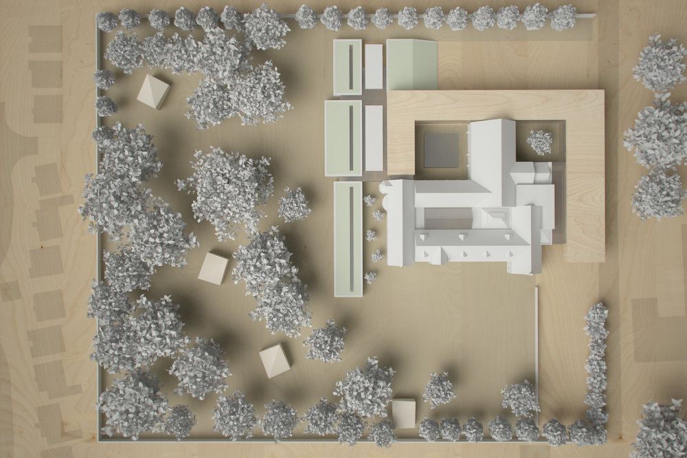 Monastery Building Conversion and Extension Liverpool Physical Model 6
