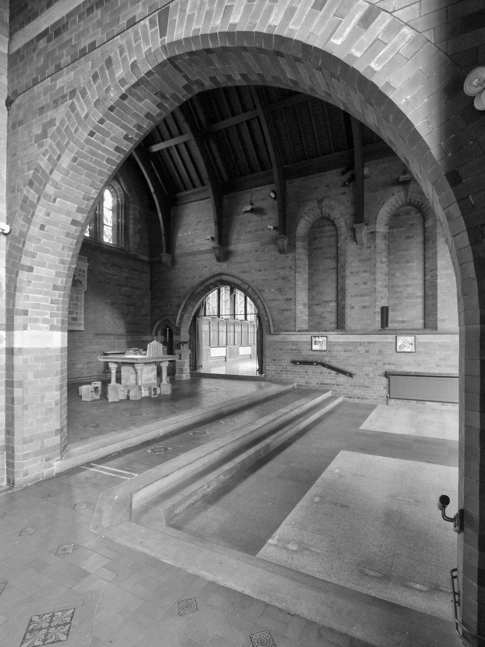 Existing Monastery Interior 1