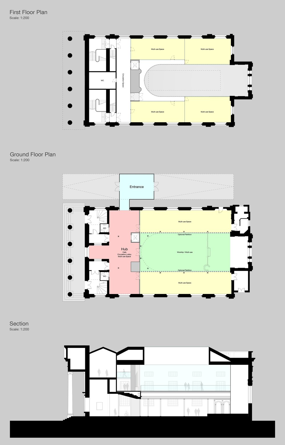 St Brides Liverpool Georgian Quarter Plans