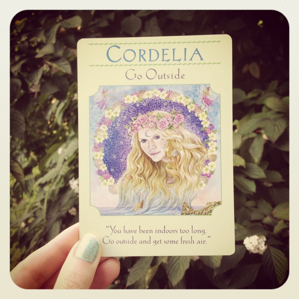 Cordelia Goddess Guidance Oracle Cards Doreen Virtue New Age Hipster x