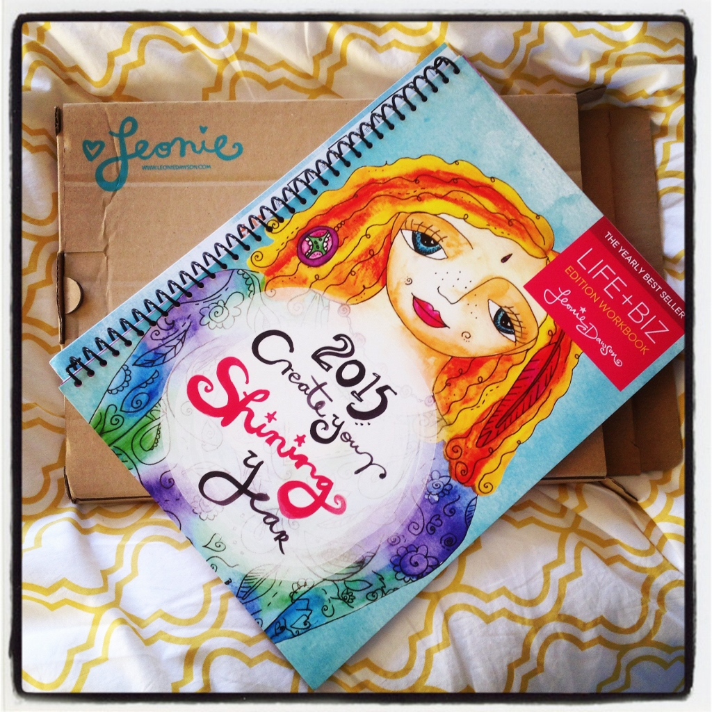 Leonie Dawson 2015 Create Your Shining Year Workbook