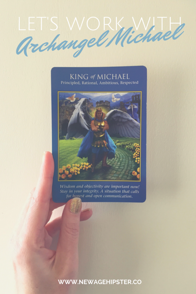Archangel Michael Angel Tarot New Age Hipster