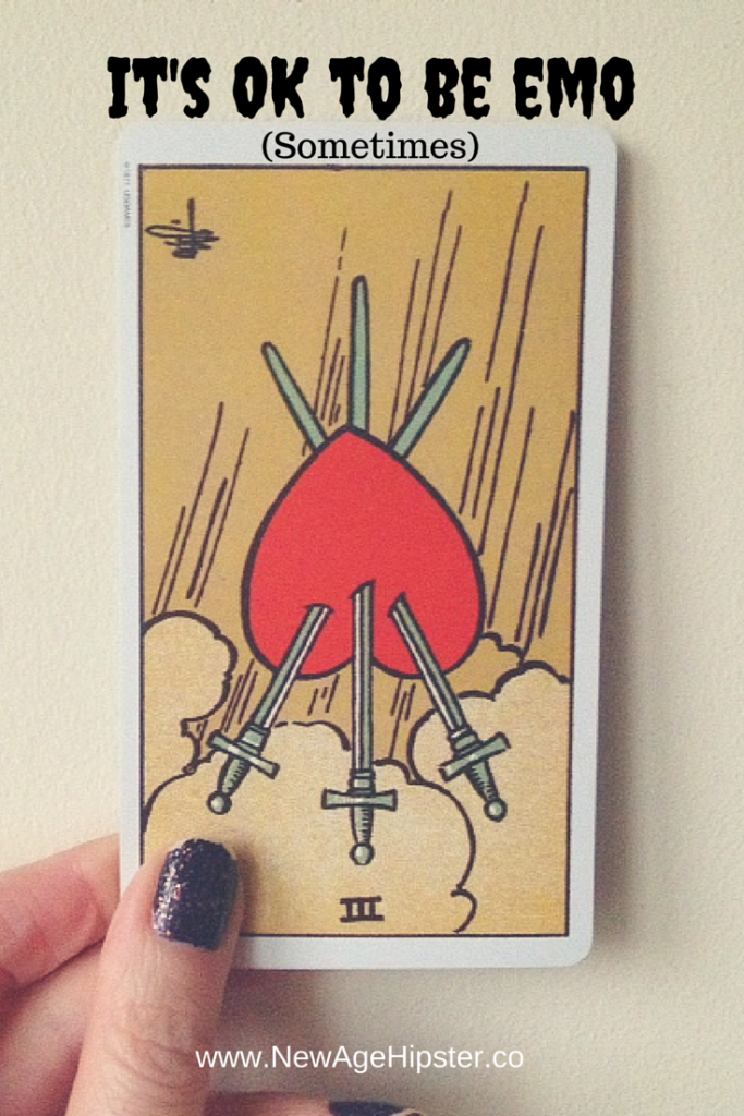 3 of swords reversed rider waite smith