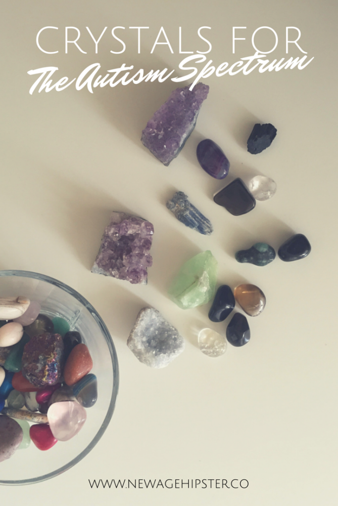 Crystals for Autism, Aspergers, Autism spectrum