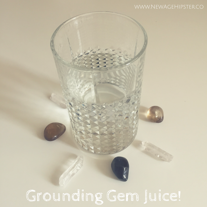 A gem elixir for grounding