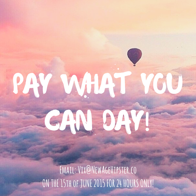 Pay What You Can Day!