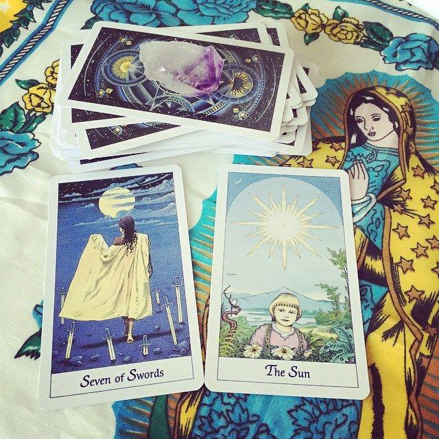 How do these cards from the Cosmic Tarot make you feel? x