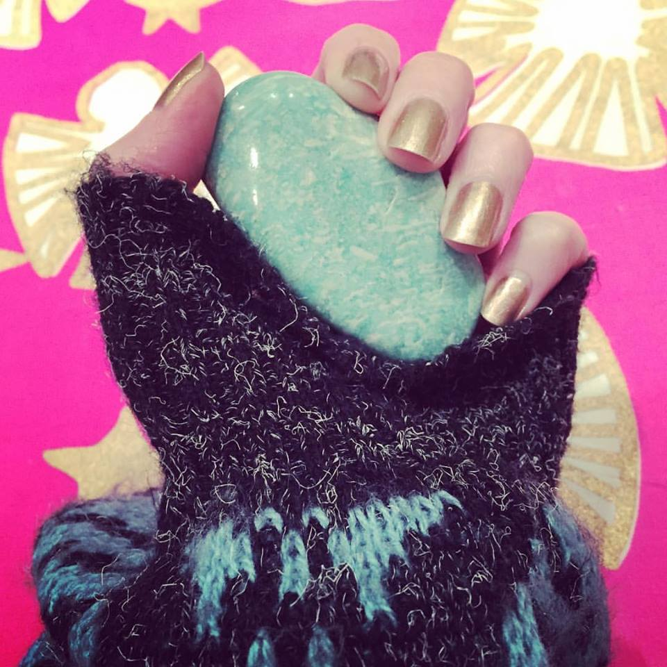 Amazonite is awesome for confidence + following your life path! x