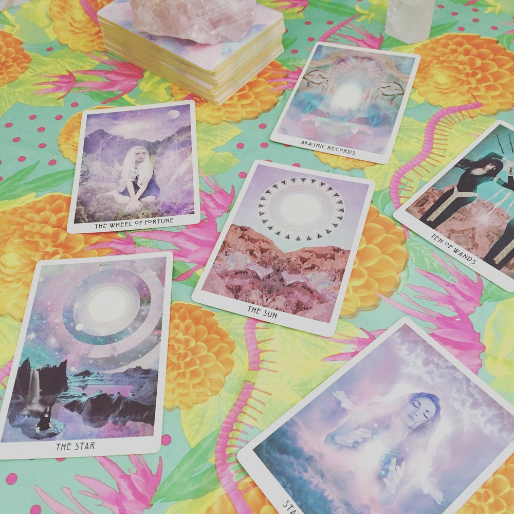 I did a reading for y'all with the Starchild Akashic Tarot - check out the video below! x