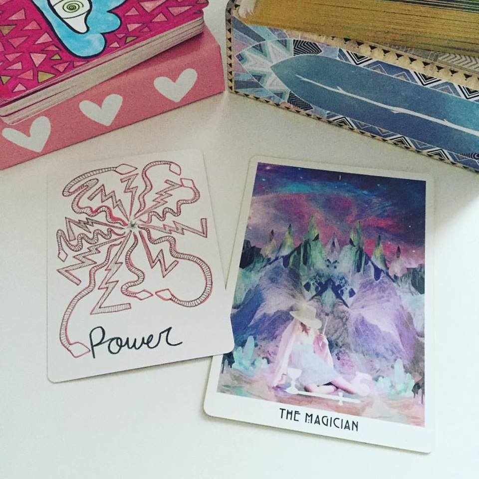 The Vessel Oracle + The Starchild Akashic Tarot x