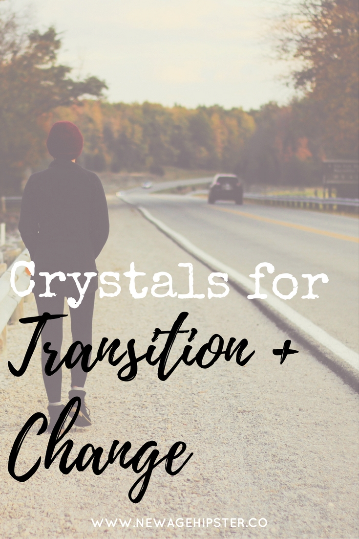 crystals for transition and change x