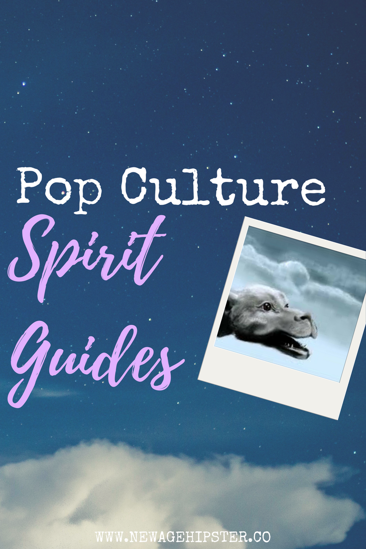 Pop Culture Spirit Guides, Falcor, New Age Hipster x
